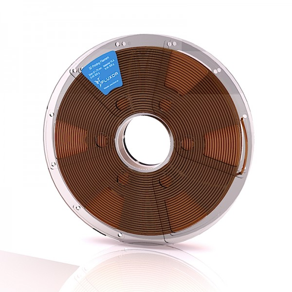 FLUXOR® PREMIUM PLA Filament 0,5kg – 1.75mm – BROWN