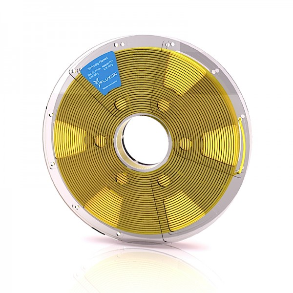 FLUXOR® PREMIUM PLA Filament 0,5kg – 1.75mm – YELLOW