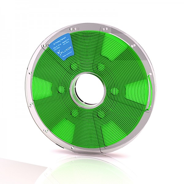 FLUXOR® PREMIUM PLA Filament 0,5kg – 1.75mm – GREEN