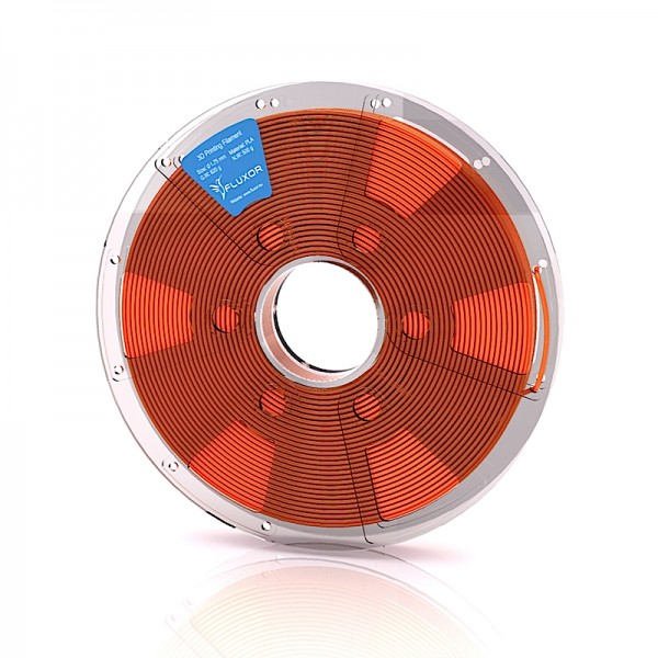 FLUXOR® PREMIUM PLA Filament 0,5kg – 1.75mm – ORANGE