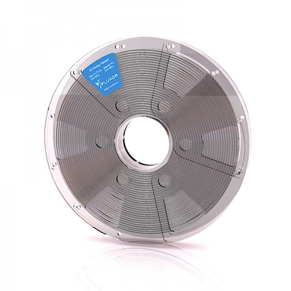 FLUXOR® PREMIUM PLA Filament 0,5kg – 1.75mm – TRANSPARENT